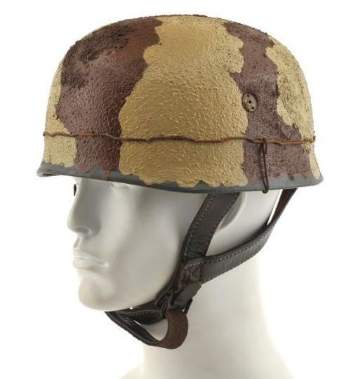 GERMAN WW2 PARATROOPER Afrika Korps M38 FALLSCHIRMJAGER HELMET Africa Italy Greece