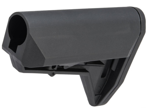 """EMG """"ALPHA"""" Combat Ready Retractable Stock for M4 Series Airsoft Rifles (Color: Black / Stock Only)"""