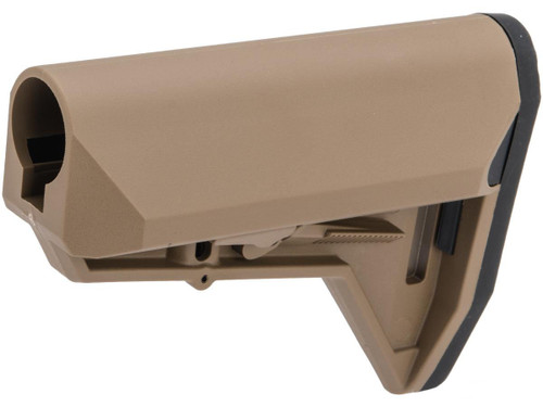 "EMG ""ALPHA"" Combat Ready Retractable Stock for M4 Series Airsoft Rifles (Color: Desert Earth / Stock Only)"