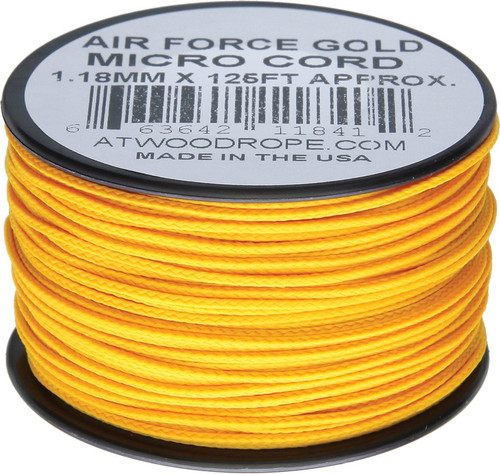 Micro Cord 125ft Air Force Gol