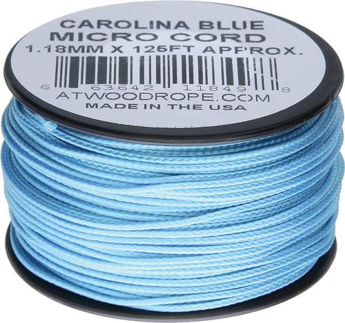 Micro Cord 125ft Carolina Blue