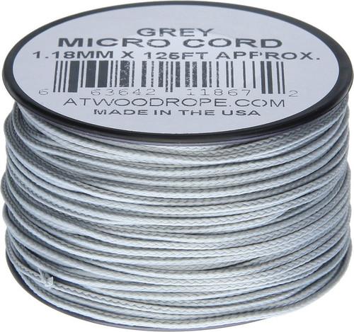 Micro Cord 125ft Gray