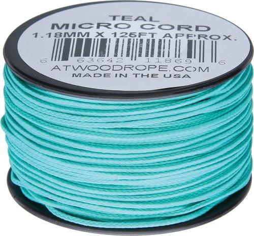Micro Cord 125ft Teal