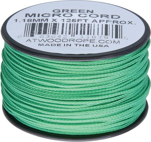 Micro Cord 125ft Green