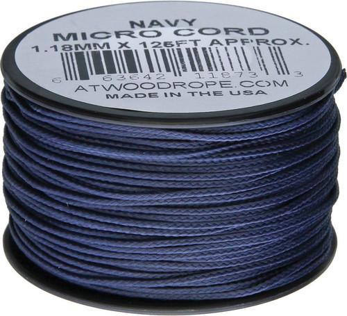 Micro Cord 125ft Navy