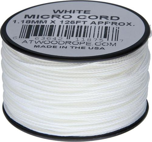 Micro Cord 125ft White