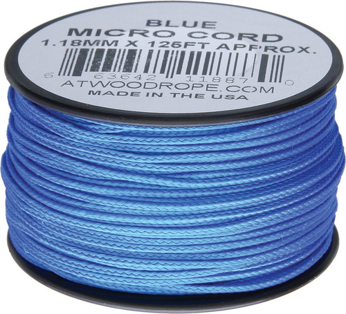 Micro Cord 125ft Blue