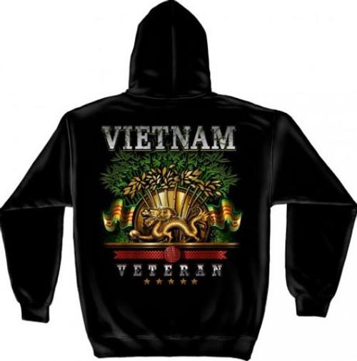 US Vietnam Veteran Hooded Sweat Shirt