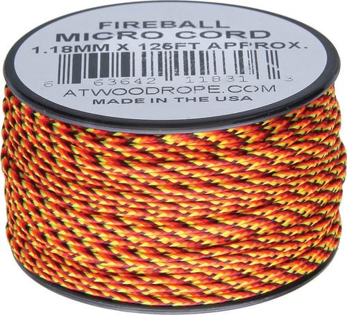Micro Cord 125ft Fireball