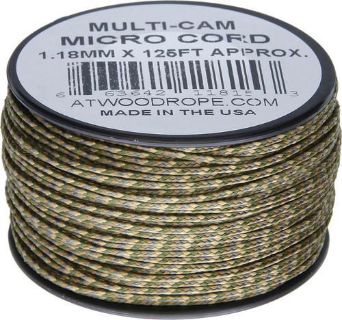 Micro Cord 125ft Multi-Cam