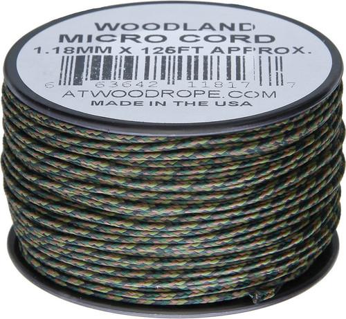 Micro Cord 125ft Woodland