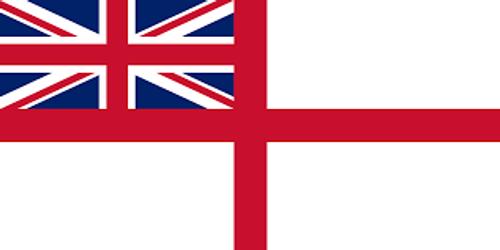 British Naval Ensign Flag  3' x 5'