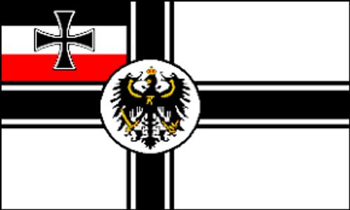 German Imperial Marines Flag 3' x 5'