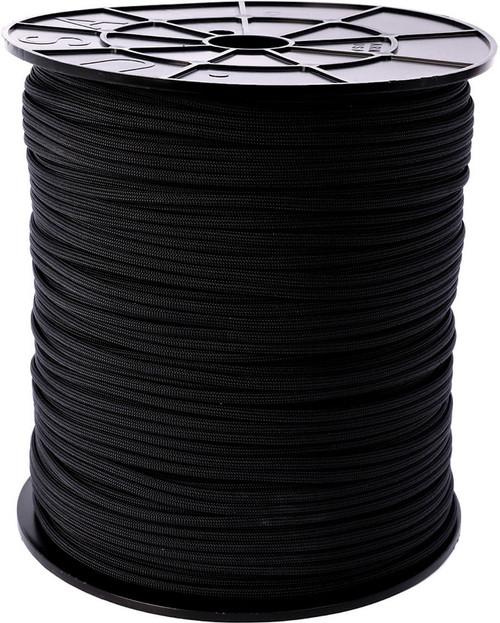 Parachute Cord Black Spool