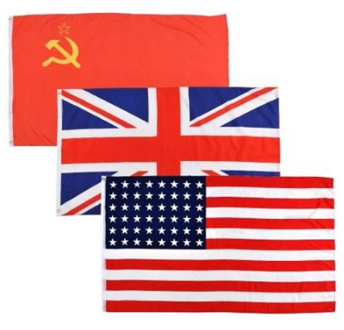 Allied Flag Set