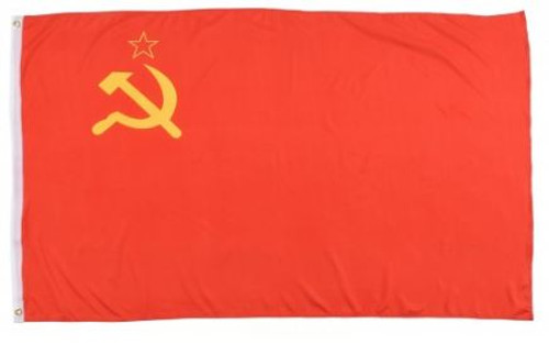 Soviet Russia USSR Hammer and Sickle Flag