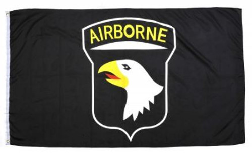 "101st Airborne ""Screaming Eagles"" Flag"