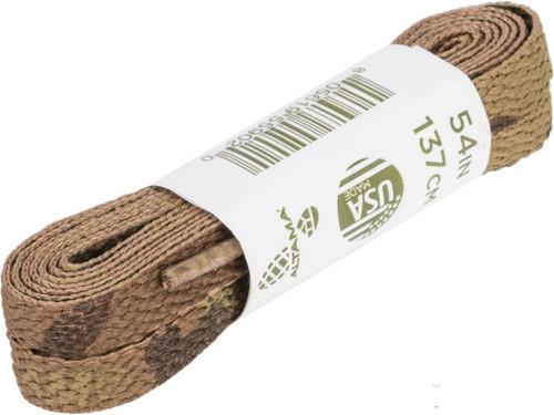 """Altama Flat Shoe Laces (Size: 54"""" / MultiCam)"""