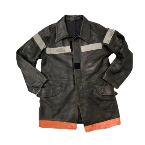 French Black Leather Jacket