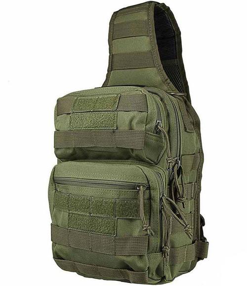 VISM / NcStar Shoulder Sling Utility Bag (Color: OD Green)