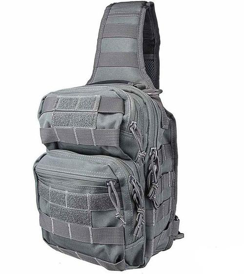 VISM / NcStar Shoulder Sling Utility Bag (Color: Urban Grey)