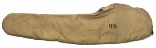 World War 2 M1 Garand Fleece Lined Canvas Case With Carry Strap Marked Jt&L 1942 Khaki Color