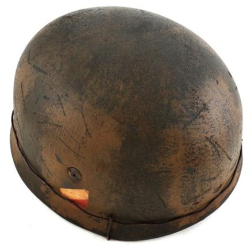 WWII German M38 Fallschirmjager (Paratrooper) Double Decal Helmet 2 Color Normandy Cammo