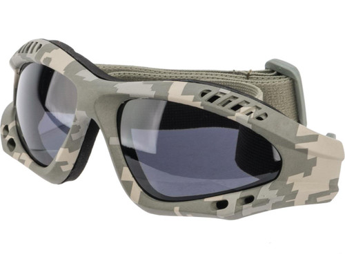 Birdz Eyewear Avocet ANSI Z87.1 Goggles (Color: Smoke)
