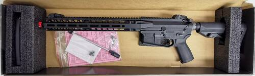 PTS Radian Licensed Model 1 LM4 Gas Blowblack Rifle - BONEYARD