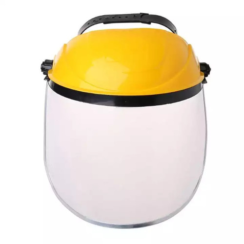 Full Face Shield w/Safety Helmet