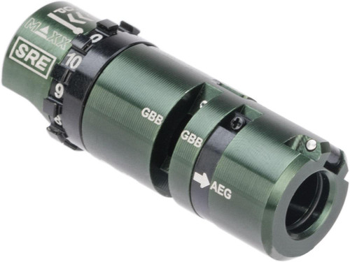 Maxx Model SRE Ultra Precision Hopup Chamber Unit for SRS/HTI Airsoft Sniper Rifles (Type: Right-Handed)