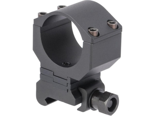 G&P 30mm Height Adjustable Scope Mount for Red Dots / Rifle Scopes (Color: Black)