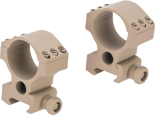 G&P 30mm Scope Mount Rings for Magnified Rifle Scopes (Model: Wide)