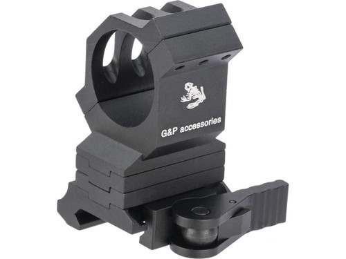 G&P 30mm Quick-Lock QD Height Adjustable Scope Mount for Red Dots / Rifle Scopes