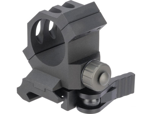 G&P 30mm Quick-Lock QD Scope Mount for Red Dots / Rifle Scopes (Model: Absolute Cowitness)