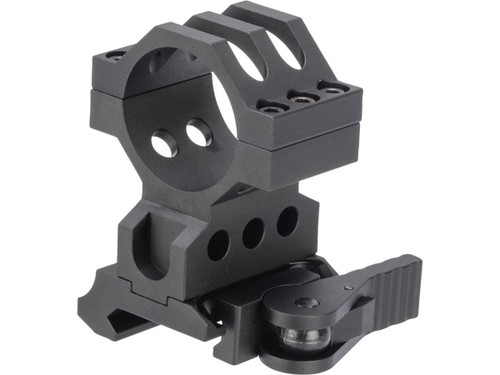 G&P 30mm Quick-Lock QD Scope Mount for Red Dots / Rifle Scopes (Model: Lower 1/3 Cowitness)