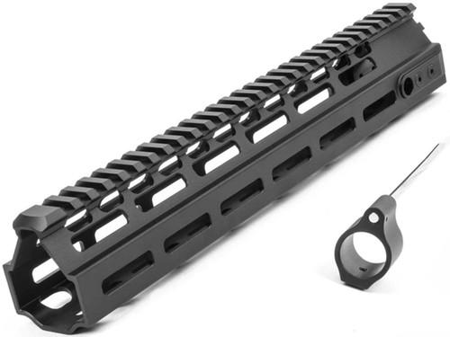 "PTS Kinetic Development Group Licensed MREX-AR M-LOK Rail for M4/M16 Series Airsoft Rifles (Model: 11"")"