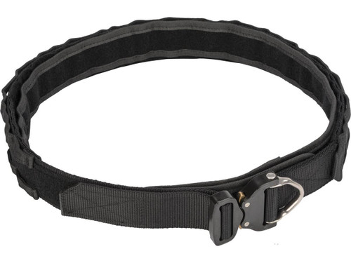 """EmersonGear 1.75"""" Low Profile Shooters Belt with AustriAlpin COBRA Buckle (Color: Black / Large)"""