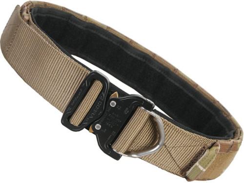 """EmersonGear 1.75"""" Low Profile Shooters Belt with AustriAlpin COBRA Buckle (Color: Coyote Brown / Medium)"""