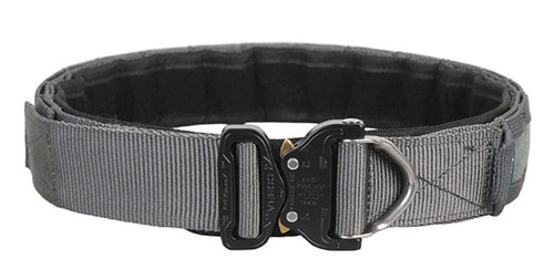 """EmersonGear 1.75"""" Low Profile Shooters Belt with AustriAlpin COBRA Buckle (Color: Wolf Grey / Large)"""