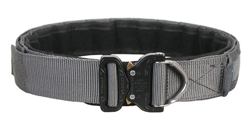"""EmersonGear 1.75"""" Low Profile Shooters Belt with AustriAlpin COBRA Buckle (Color: Wolf Grey / Medium)"""