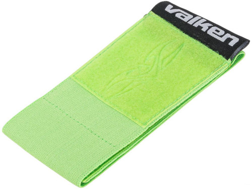 Valken V-TAC Player Team Armband w/ Large Patch Space (Color: Green)