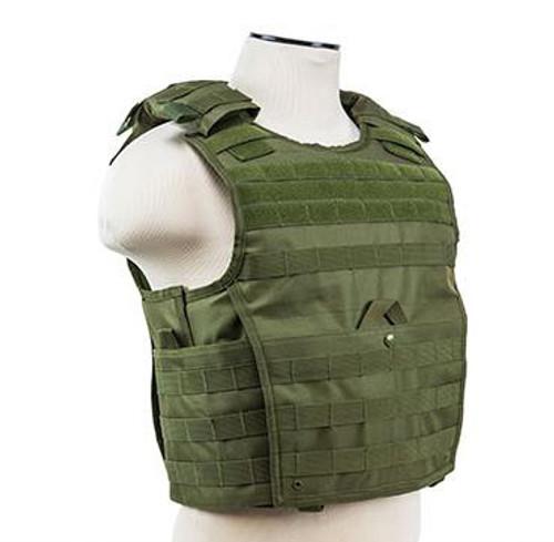 VISM / NcStar Expert Plate Carrier Vest (Color: OD Green)