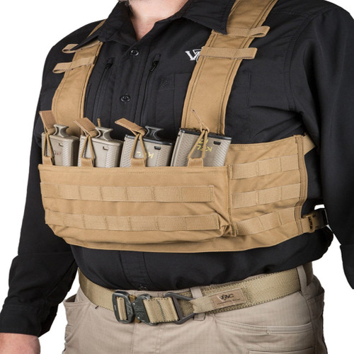 VTAC MOLLE Chest Rig Coyote