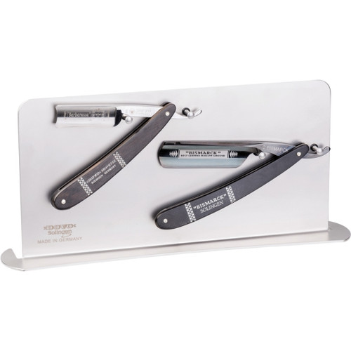Display Stand Straight Razors