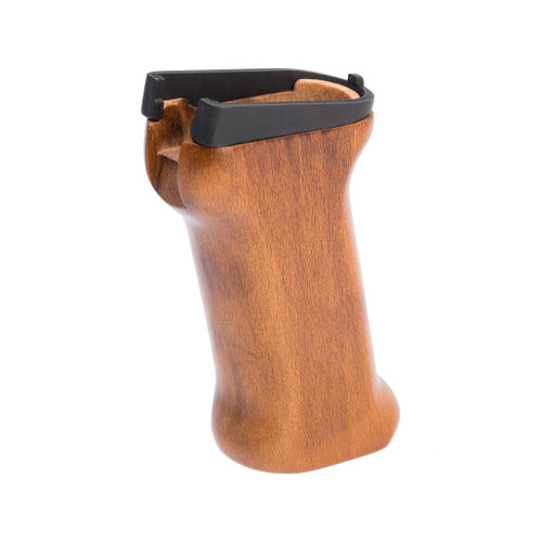LCT Airsoft Wooden Pistol Grip for AMD-63/LCKM-63 Series Airsoft Rifles
