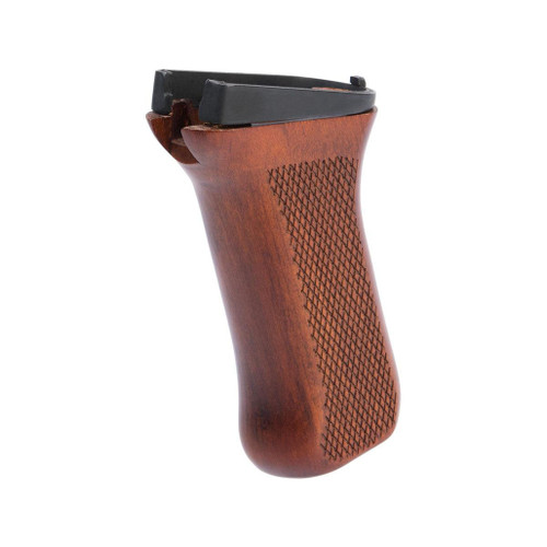 LCT Airsoft Wooden Pistol Grip for AK Series Airsoft Rifles (Model: AK47)