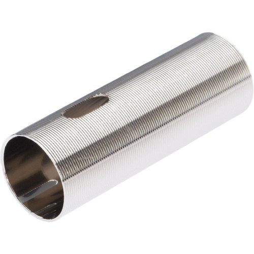 LCT Airsoft CNC Advanced Stainless Ribbed Airsoft AEG Cylinder (Model: Type 2)