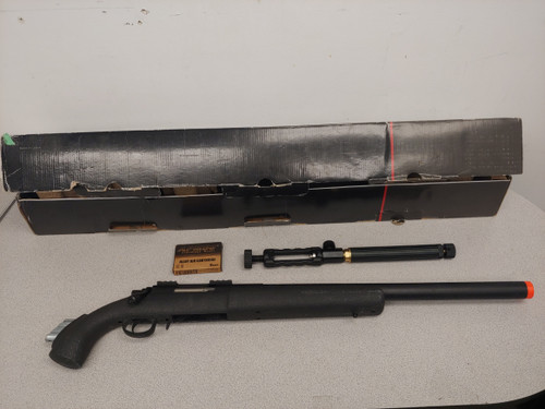 APS M50 Shell Ejecting Co2 Powered Airsoft Gas Sniper Rifle -- USED
