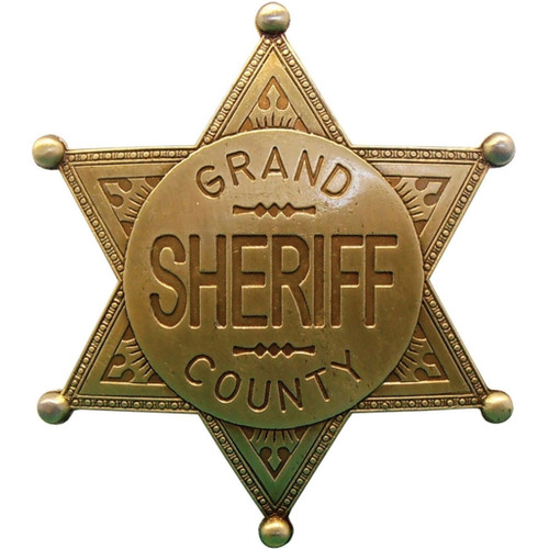 Grand County Sheriff Badge DX113L